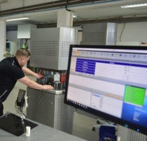 Prüfsoftware für Resonanzprüfmaschinen